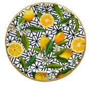 Imagem de Sousplat Redondo Limão Siciliano Plástico 33cm - Dea
