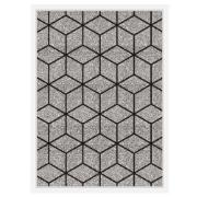 Quadro Decorativo 73x53 cm Geométrico Branco 540970 - Euroquadros