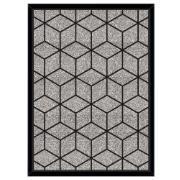 Imagem de Quadro Decorativo 73x53 cm Geométrico Preto 541120 - Euroquadros