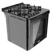 Imagem de Fogão de Embutir 4 Bocas Dako 300000403 Bivolt Tripla-Chama com Acendimento Superautomático Grill Timer Digital