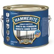 Tinta Esmalte Sintético Brilhante Premium 2,4L - Cinza - Hammerite