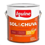 Verniz Sol E Chuva Alto Brilho - Incolor - 3,600L - Iquine
