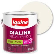 Tinta Esmalte Sintético Acetinado Premium 3,6L - Branco Neve - Dialine Iquine