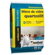 Imagem de Argamassa Bloco Vidro 5kg - Quartzolit