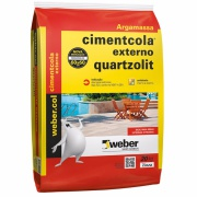 Imagem de Argamassa ACII Cimentcola Externo 20kg - Quartzolit