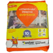 Argamassa ACI Cimentcola Interno 20kg - Quartzolit