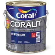 Imagem de Tinta Esmalte Sintético Brilhante Premium 3,6L - Preto - Ferrolack Coral