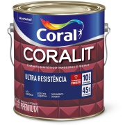 Imagem de Tinta Esmalte Sintético Alto brilho Premium 3,6L - Branco Neve - Coralit Coral