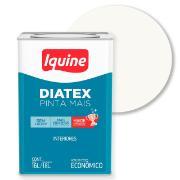 Imagem de Tinta Acrílica Fosco Econômica 18L - Branco Neve - Diatex Iquine