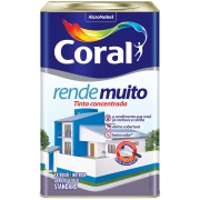 Imagem de Tinta Acrílica Fosco Standard 18L - Areia - Rende Muito Coral