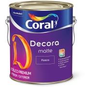 Tinta Acrílica Fosco Premium 3,6L - Branco Neve - Decora Coral