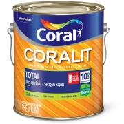 Tinta Esmalte Sintético Acetinado Premium 3,6L - Branco Gelo - Coralit Zero Coral