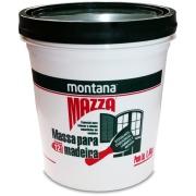 Massa Para Madeira Mazza - Branco - Balde 1,600Kg - Montana