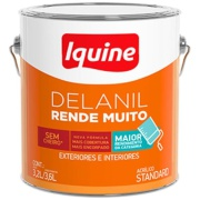 Tinta Acrílica Fosco Standard 3,6L - Concreto - Delanil Iquine