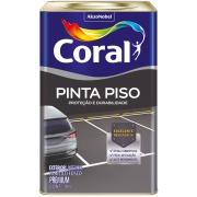 Tinta Acrílica Fosco Premium 18L - Branco Neve - Coralpiso Coral