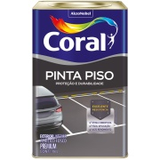Imagem de Tinta Acrílica Fosco Premium 18L - Branco Neve - Coralpiso Coral