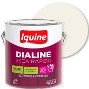 Tinta Esmalte Sintético Alto brilho Premium 3,6L - Branco Neve - Dialine Iquine