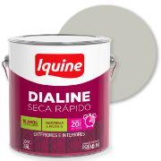 Tinta Esmalte Sintético Alto brilho Premium 3,6L - Branco Gelo - Dialine Iquine