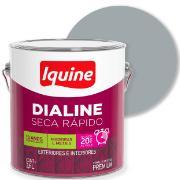 Tinta Esmalte Sintético Alto brilho Premium 3,6L - Platina - Dialine Iquine