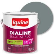 Imagem de Tinta Esmalte Sintético Alto brilho Premium 3,6L - Cinza Médio - Dialine Iquine