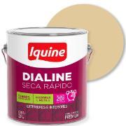 Tinta Esmalte Sintético Alto brilho Premium 3,6L - Marfim - Dialine Iquine