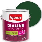 Tinta Esmalte Sintético Alto brilho Premium 3,6L - Verde Folha - Dialine Iquine