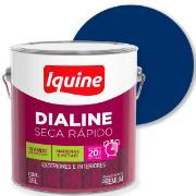 Tinta Esmalte Sintético Alto brilho Premium 3,6L - Azul Del Rey - Dialine Iquine