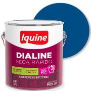 Tinta Esmalte Sintético Alto brilho Premium 3,6L - Azul França - Dialine Iquine