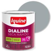 Tinta Esmalte Sintético Alto brilho Premium 0,9L - Platina - Dialine Iquine