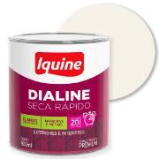 Tinta Esmalte Sintético Acetinado Premium 0,9L - Branco Neve - Dialine Iquine
