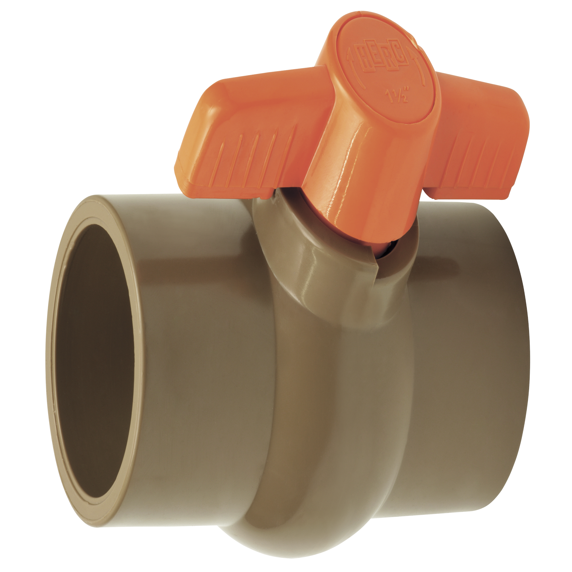 Registro Esfera PVC Alavanca 20mm - Herc
