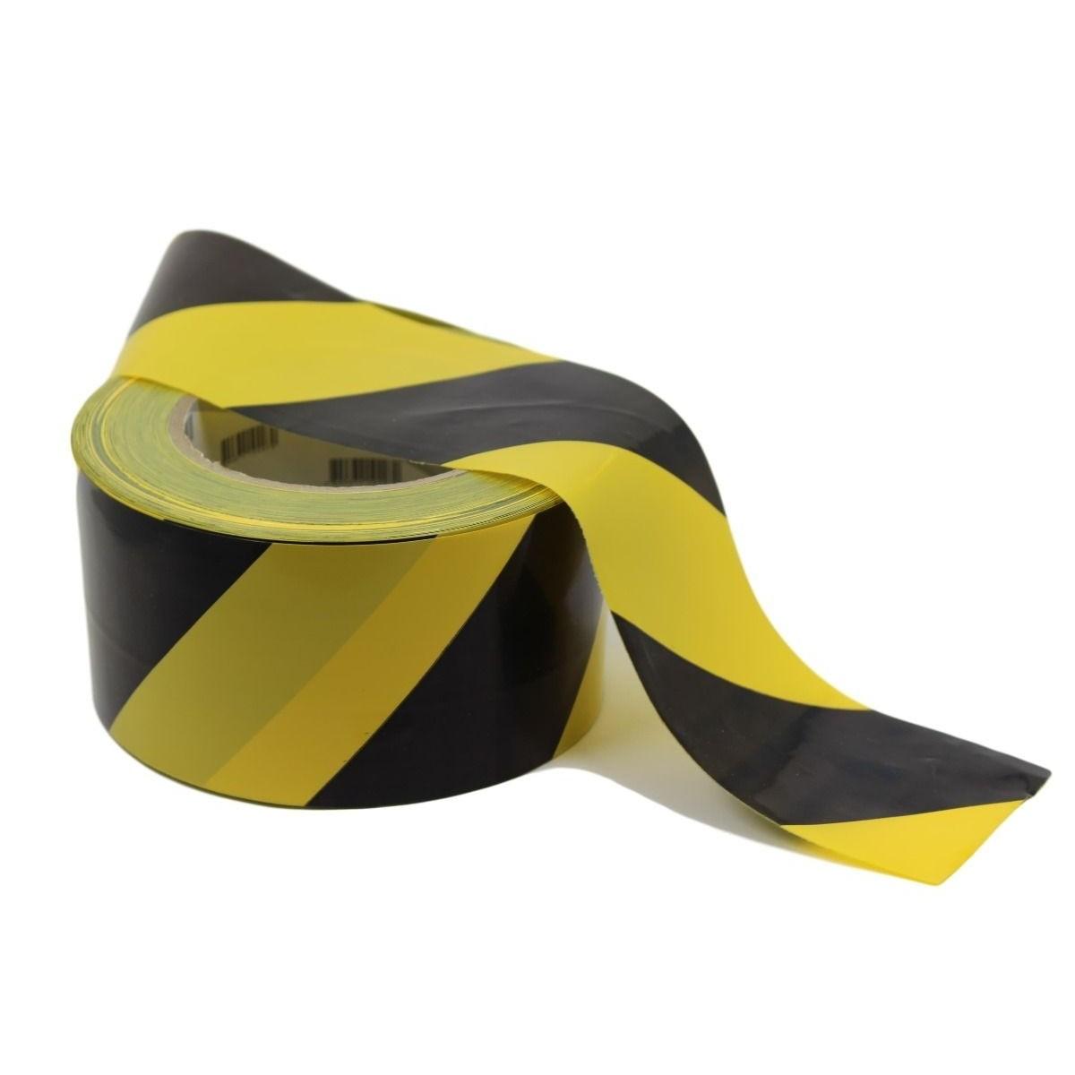 Fita De Isolamento Amarelo 7mm x 200m 1 Unidade - Plastcor
