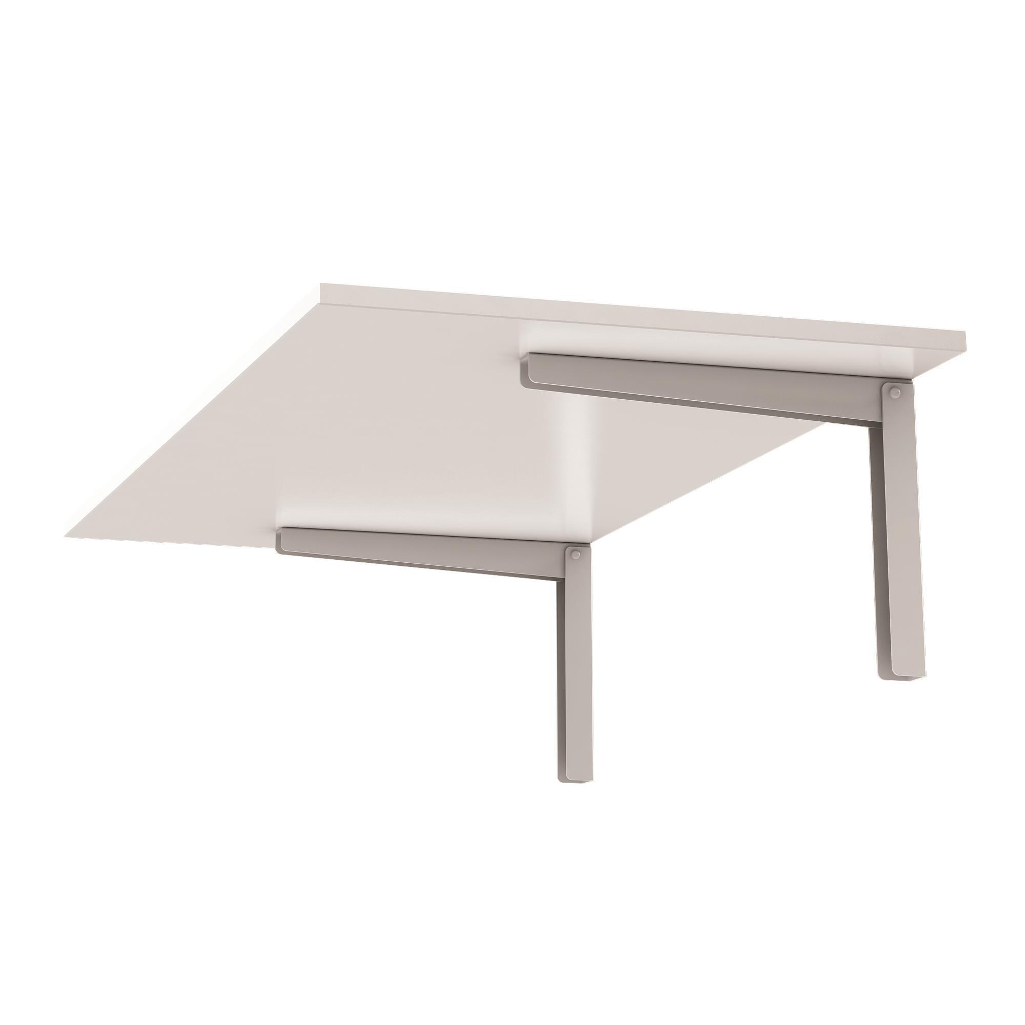 Mesa para Copa 90x45cm Branca - Fico