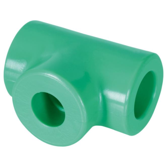 Te de Reducao extrema e central PPR 32 mm x 20 mm25 mm Femea - Amanco