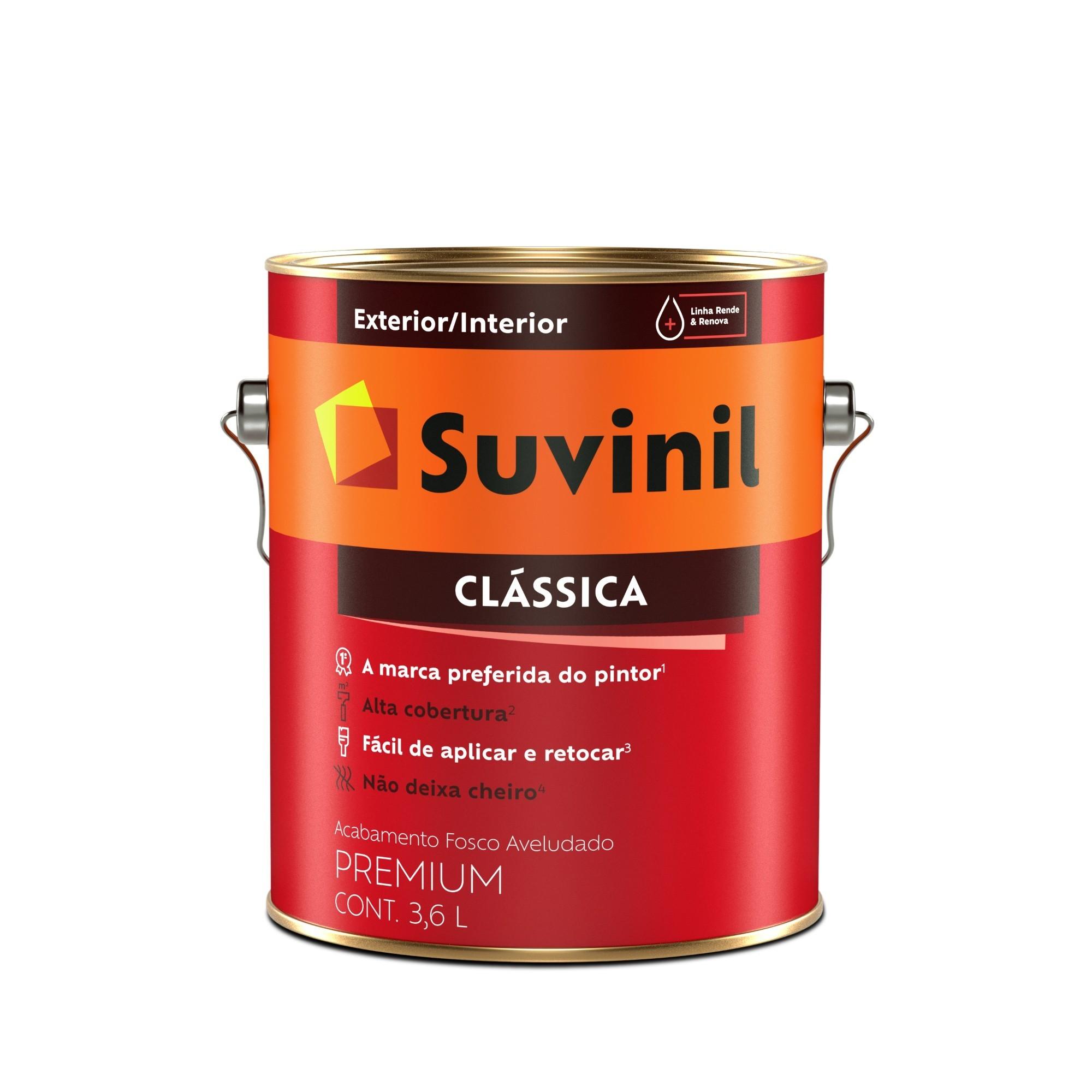 Tinta Pva Fosco Premium 36L - Branco Neve - Maxx Suvinil