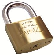 Cadeado Latão 70 mm Chave Tetra Bronze - 1 Unidade - Papaiz
