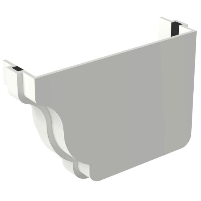 Cabeceira de PVC Retangular Direito 132 x 89 mm Branco - Aquapluv Tigre