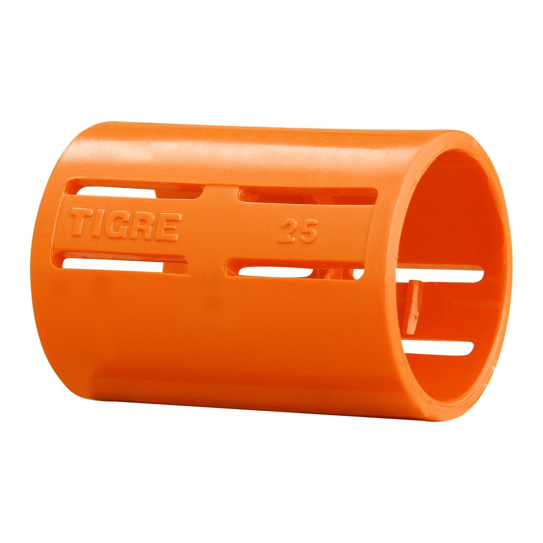 Luva Pressao 1 PVC Antichamas Laranja - Tigre