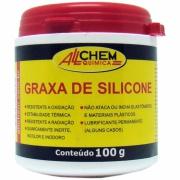 Graxa Silicone Pasta 200ml - Allchem Química
