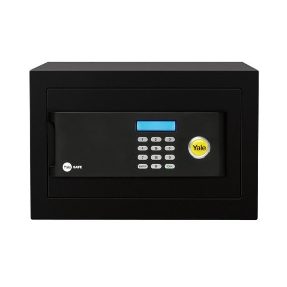 Cofre com Segredo Eletronico 20x35x20 cm Compact YSB200 - Yale La Fonte