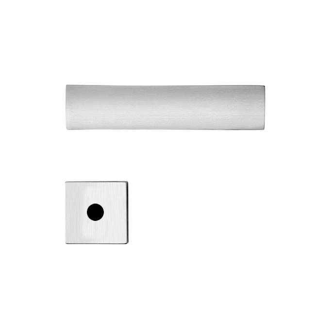 Fechadura WC Roseta e Macaneta Cromo Acetinado R206MZ530 Massima - Papaiz