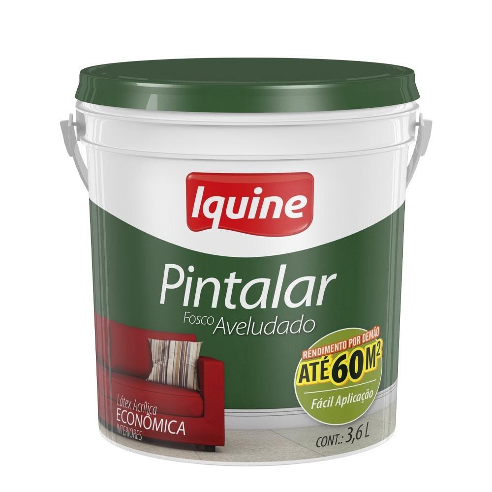 Tinta Acrilica Fosco Economica 36L - Perola - Pintalar Iquine