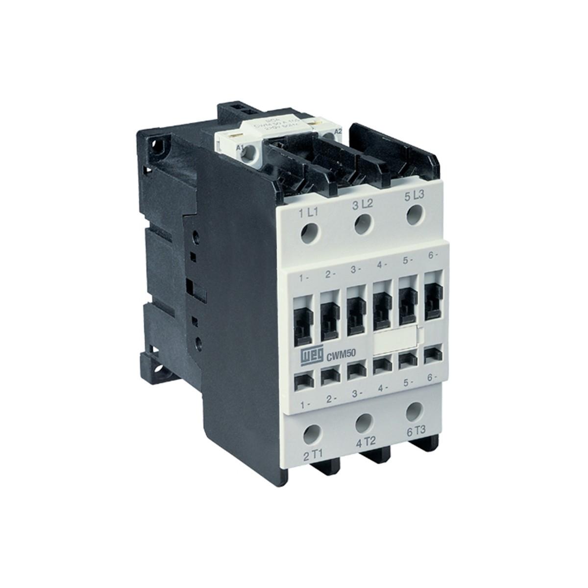 Contator de Potencia Trifasico 500A 325V 50 Hz e 380V 60 Hz - WEG