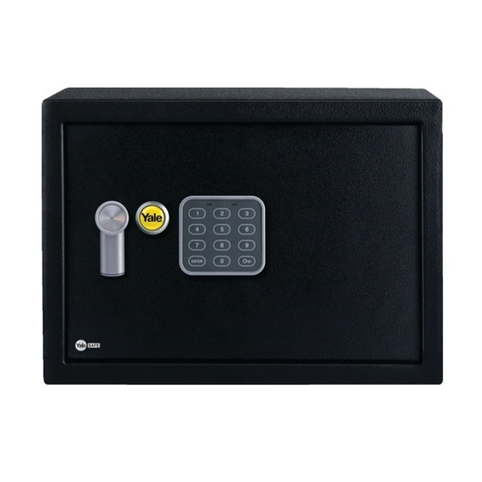 Cofre com Segredo Eletronico Compact 05551000 - Yale La Fonte
