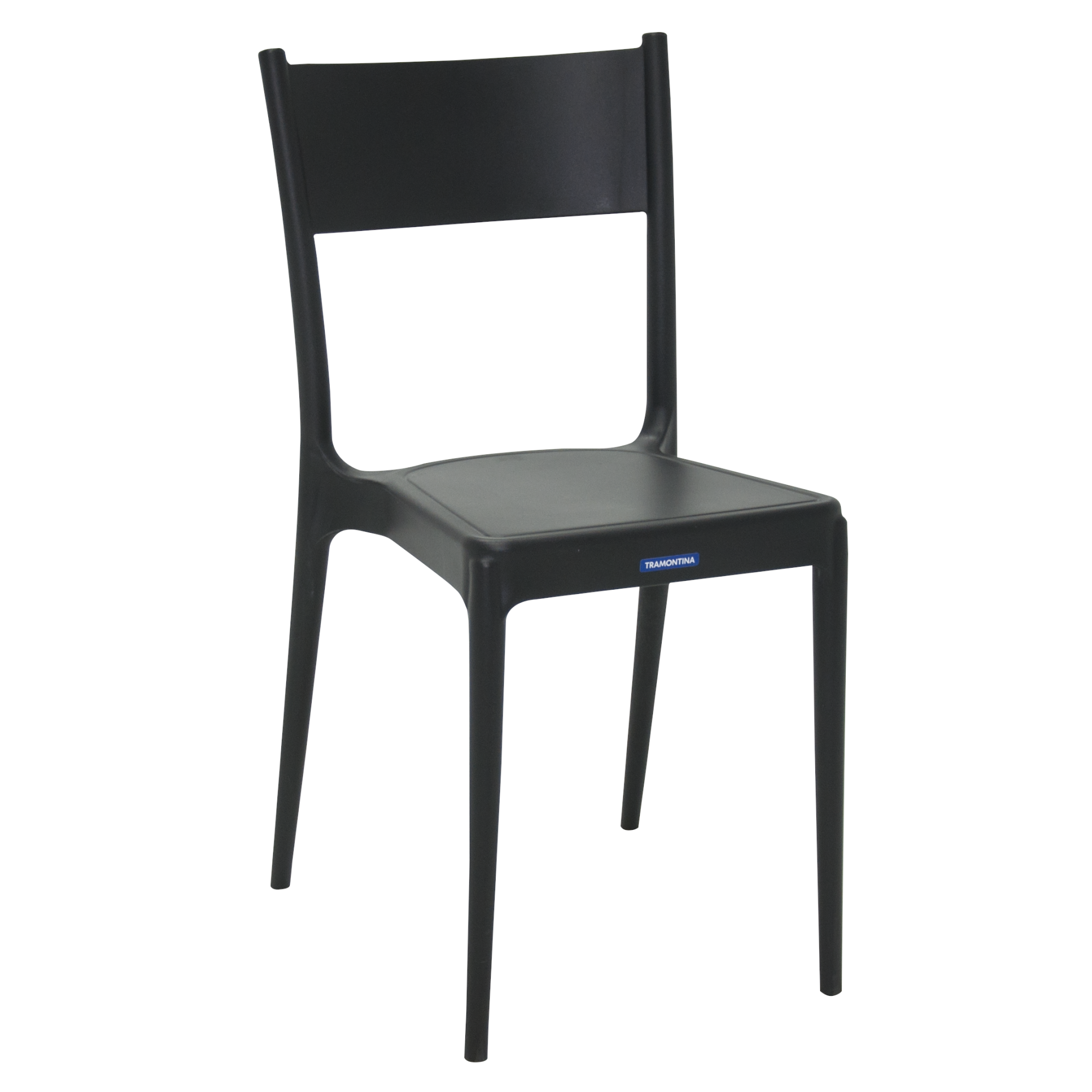 Cadeira Diana de Plastico Preto - Tramontina