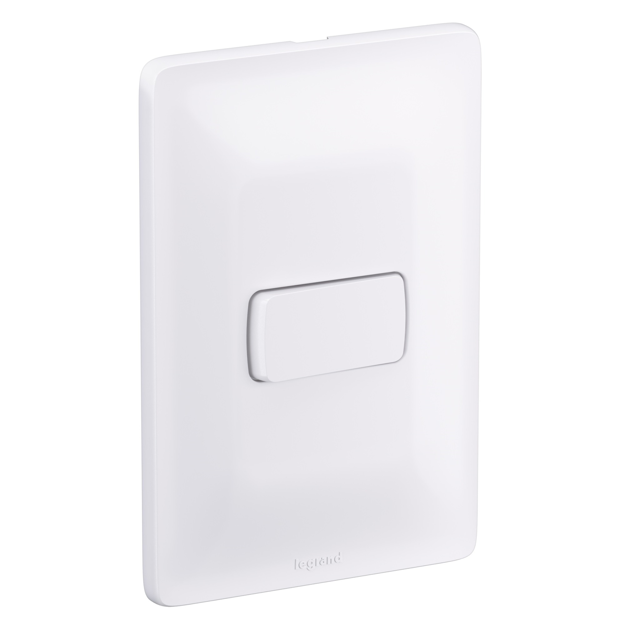 Conjunto Interruptor Simples 1 Modulo 10A - Branco - Zeffia - Legrand