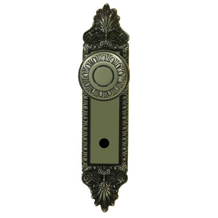 Fechadura WC Espelho e Macaneta Zamac Oxidado 3800104 Colonial - Alianca