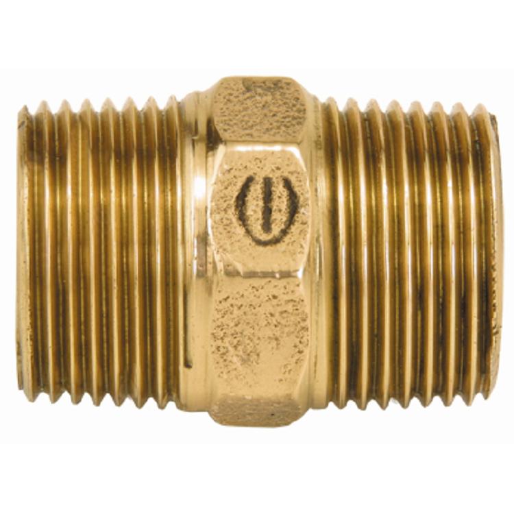 Niple Duplo Bronze Roscavel 12 - Eluma