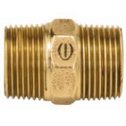 """Niple Duplo Bronze Roscável 1/2"""" - Eluma"""