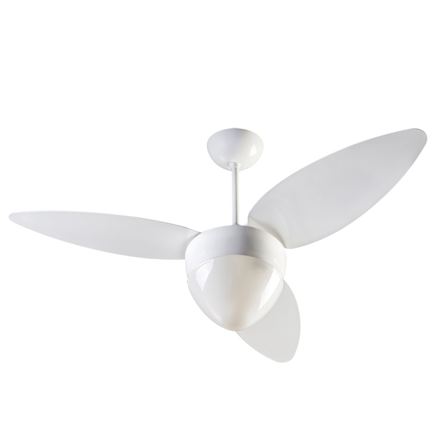 Ventilador de Teto Ventisol 3 Pas Aires 9187252 Branco 220V - 2 Lampadas 3 Velocidades